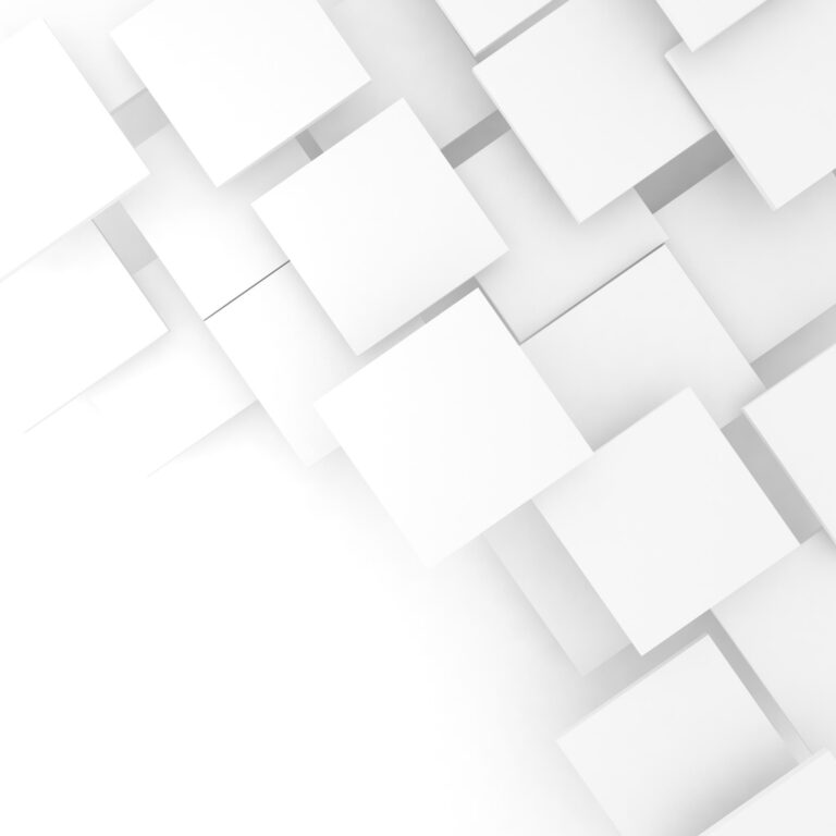 white tiles block